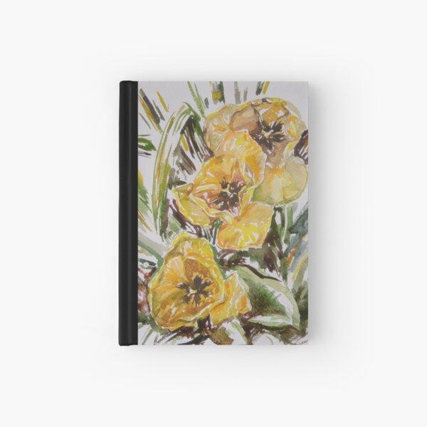 Three Tulips Hardcover Journal