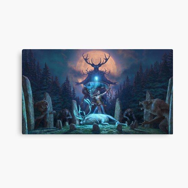 The Elder Scrolls Online - Wolfhunter Canvas Print