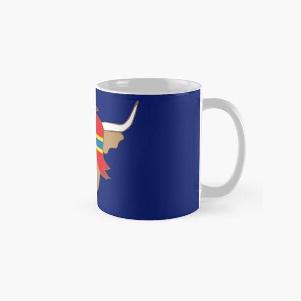 Isle of Orkney flag shirt scottish highland cow Classic Mug