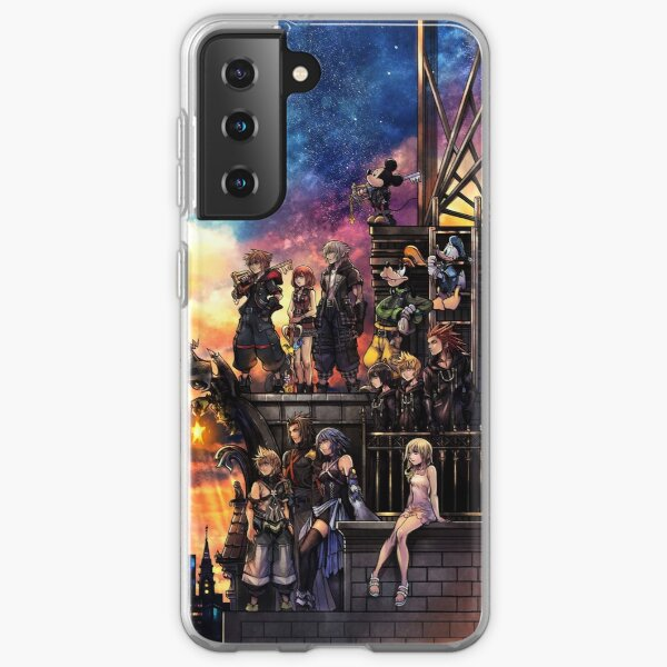 Couverture de Kingdom Hearts 3 Coque souple Samsung Galaxy