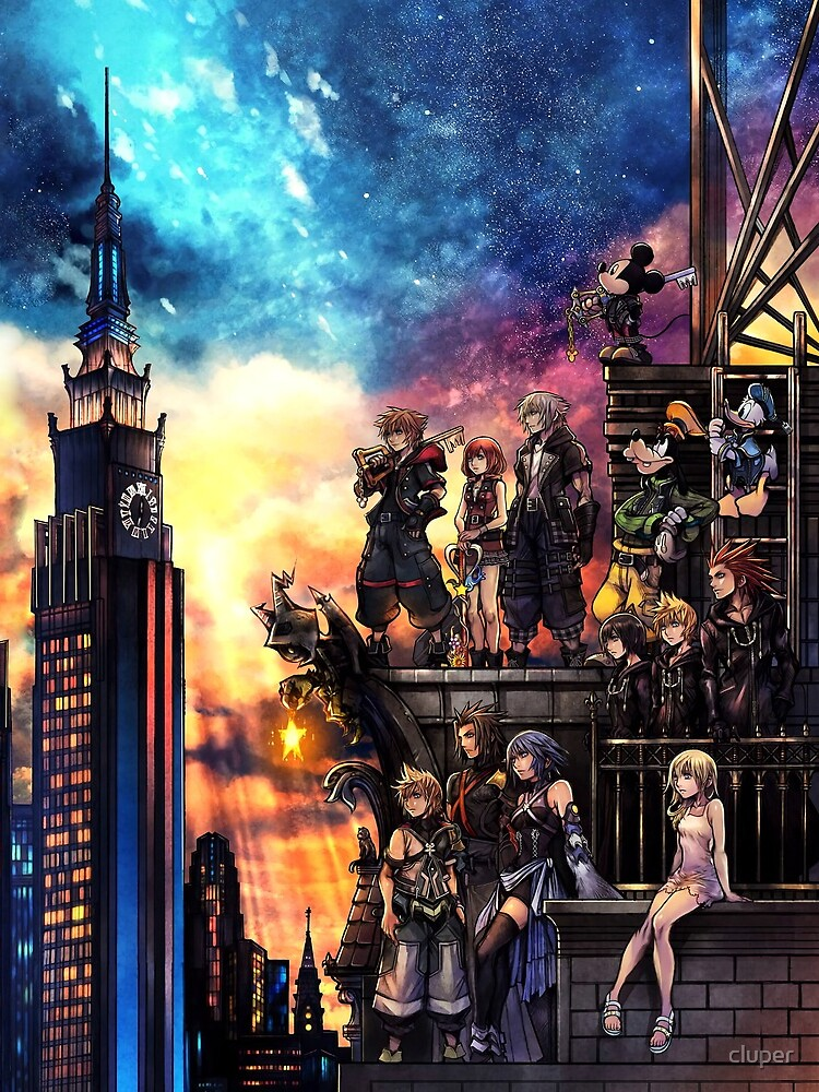 Kingdom Hearts 3 Cover by cluper