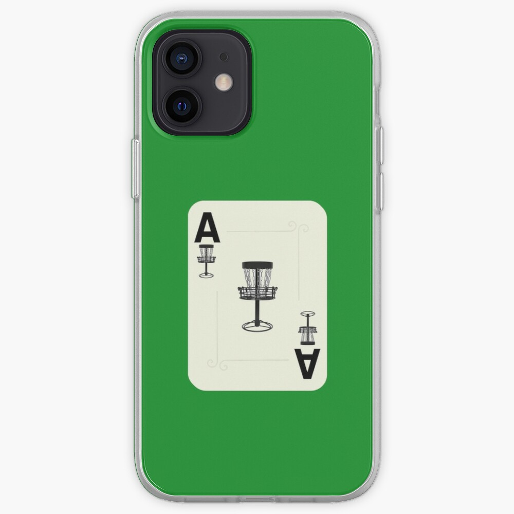 Disc Golf Ace Basket Poker Card iPhone Case & Cover