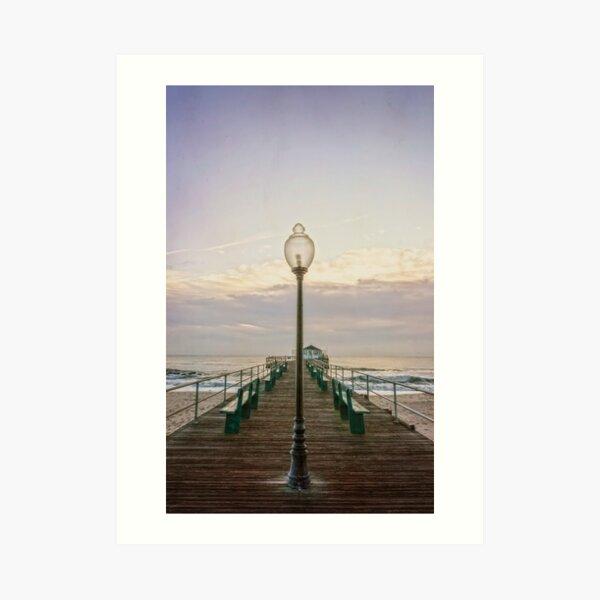 The Ocean Grove Pier at Dawn Art Print