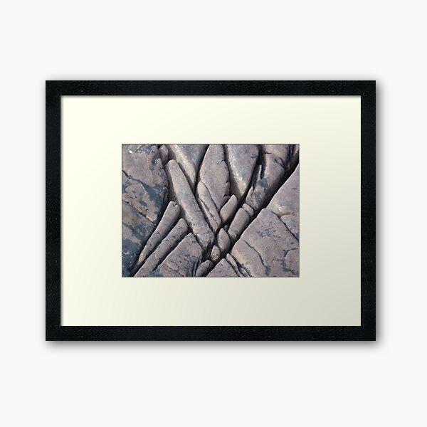 Rock of Ages 3 Framed Art Print