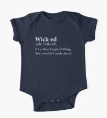 Limited Edition Wicked Its A New England Thing, Tom Brady, Patriots, Tb12 Shirts, Mugs, Hoodies & Phone Cases! Short Sleeve Baby One-Piece