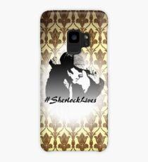 #SherlockLives Case/Skin for Samsung Galaxy