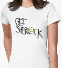 Get Sherlock Women's Fitted T-Shirt