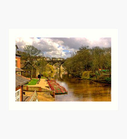 Knaresborough Viaduct Art Print