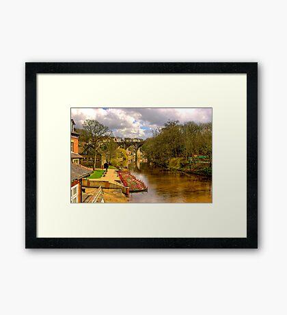 Knaresborough Viaduct Framed Print
