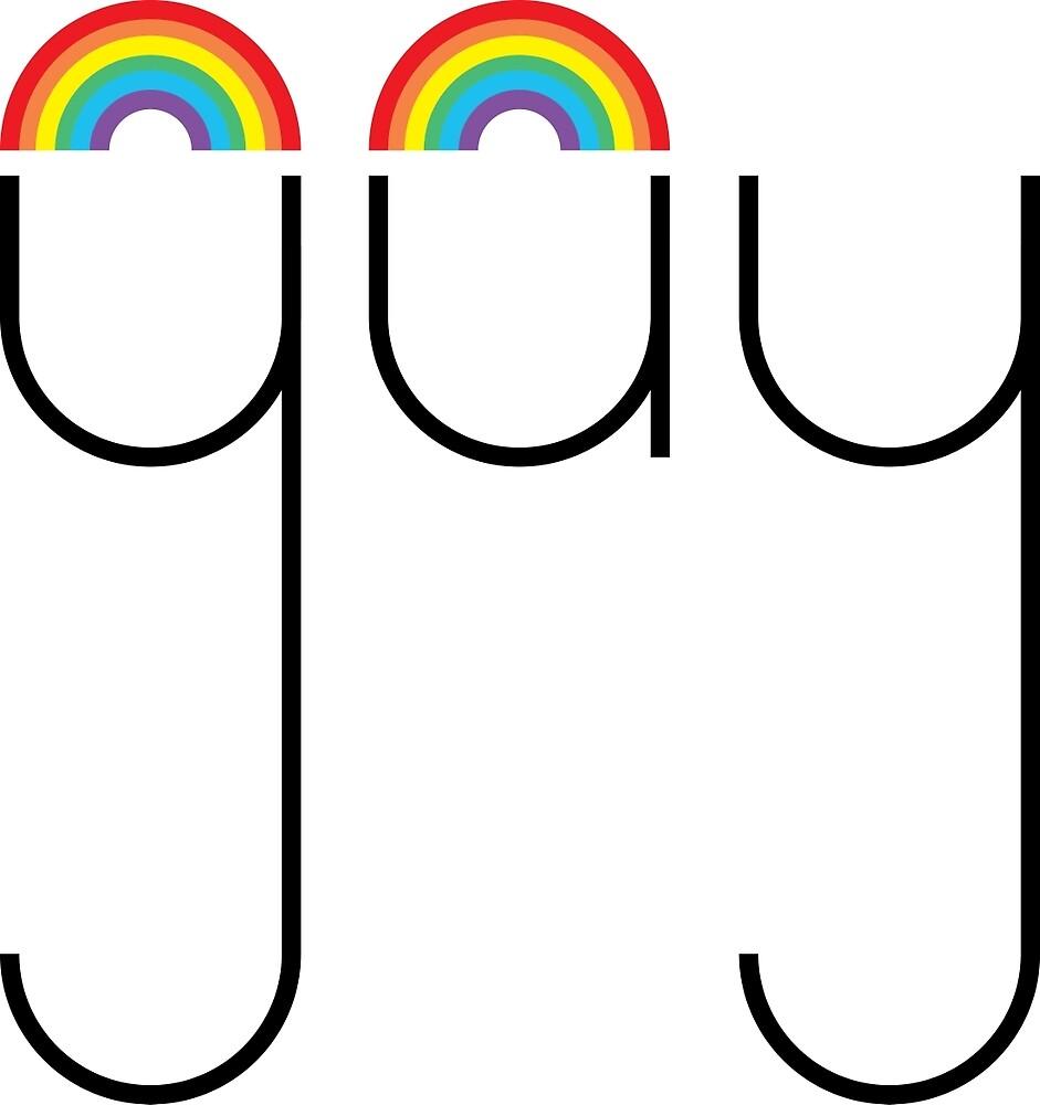 Rainbow Gay #lovewins by eggmost