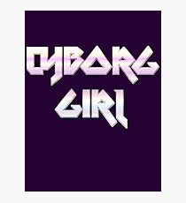 CYBORG GIRL by Chillee Wilson Photographic Print