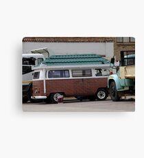 Mobile Home Canvas Print