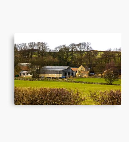 Yorks Moors Barn Canvas Print