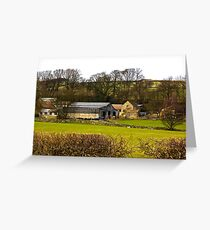 Yorks Moors Barn Greeting Card