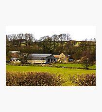 Yorks Moors Barn Photographic Print