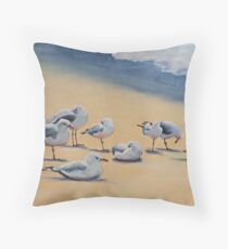 Chill Out Time!! Throw Pillow