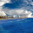 Myrtle Beach vom Pier entfernt von TJ Baccari Photography