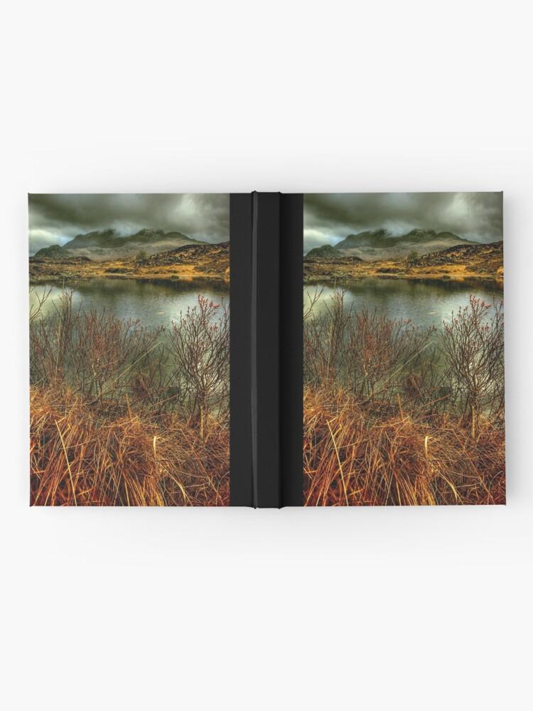 Alternate view of Sligachan Grasses Hardcover Journal