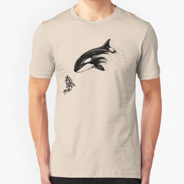 The Mountain Unisex Adult Orca Waves Aquatic Animals T Shirt