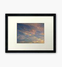 Arrow In The Sky Framed Print