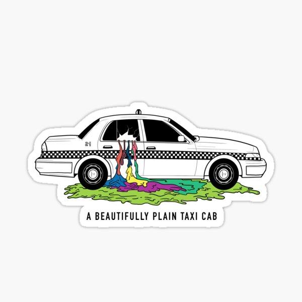 Twenty One Pilots Taxi Cab Sticker