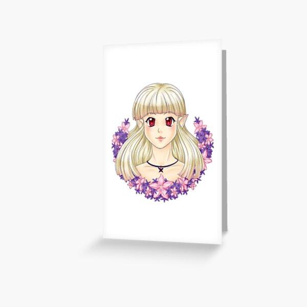 Oleander Grußkarte