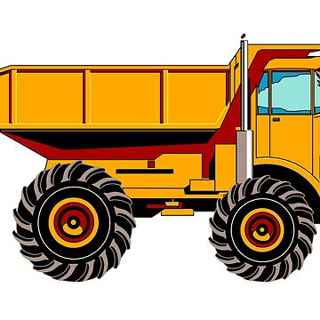 DUMP TRUCK by TOMSREDBUBBLE