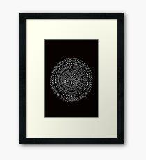 Charcoal Framed Print