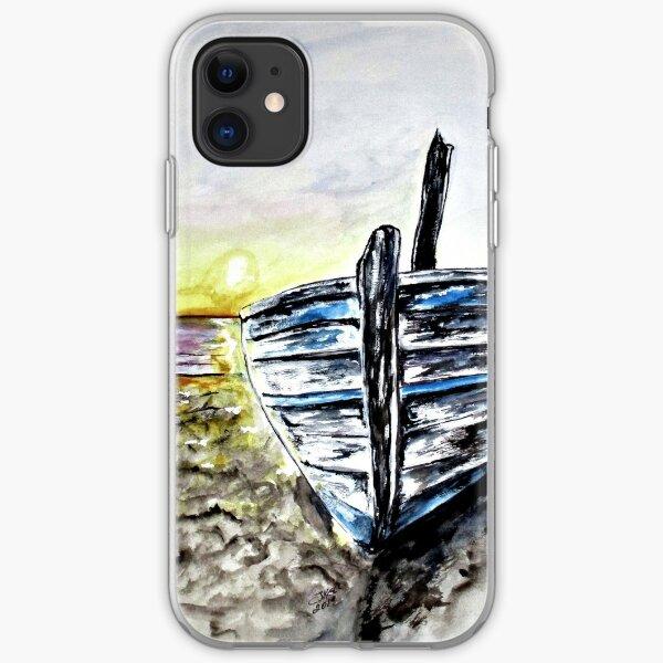 Abandoned Fishing Boat No. 2 iPhone Soft Case