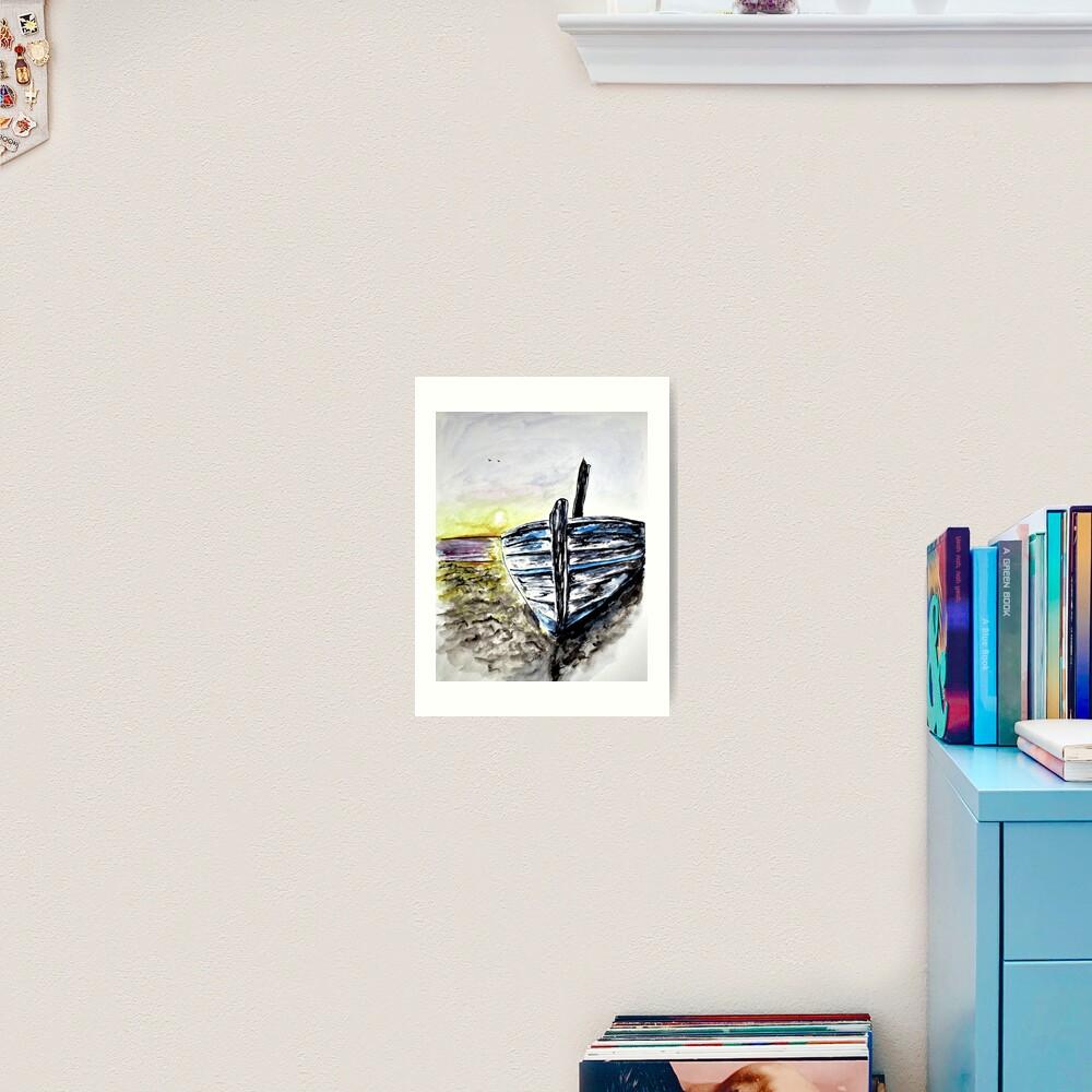 Abandoned Fishing Boat No. 2 Art Print