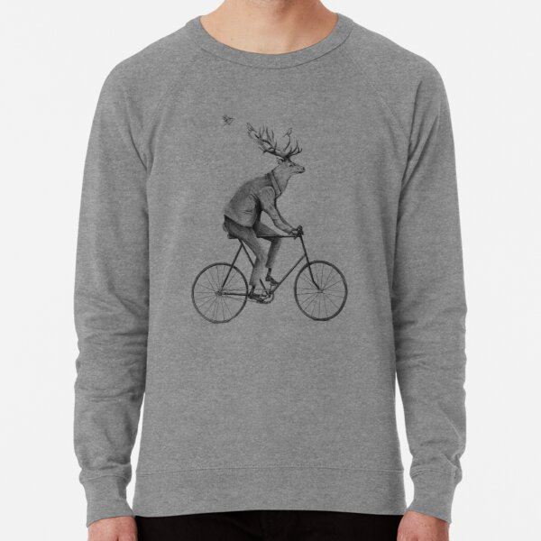 Even a Gentleman rides Lightweight Sweatshirt
