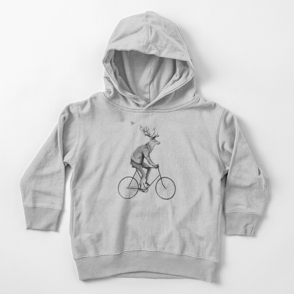 Even a Gentleman rides Toddler Pullover Hoodie