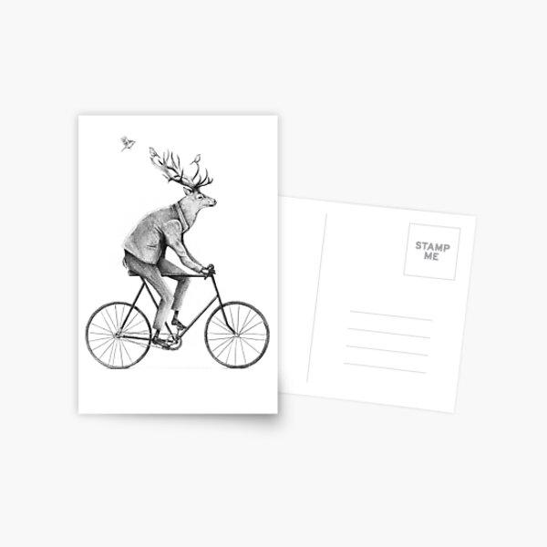 Even a Gentleman rides Postcard