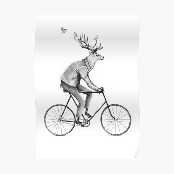 Even a Gentleman rides Poster
