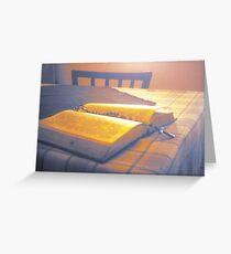 Prayer book Greeting Card