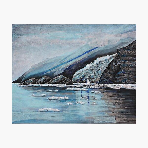 Alaska Glacier  Photographic Print
