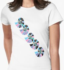 Happy Sea Shell T Shirt Womens Fitted T-Shirt