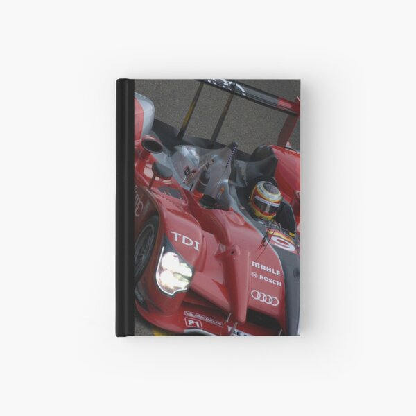 Audi R15 Hardcover Journal