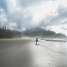 Misty Short Sands Beach in Oregon by Kay Brewer