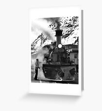 Venting Engine 473 Greeting Card