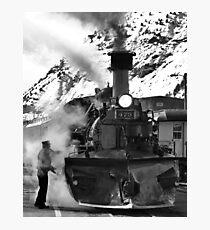 Venting Engine 473 Photographic Print