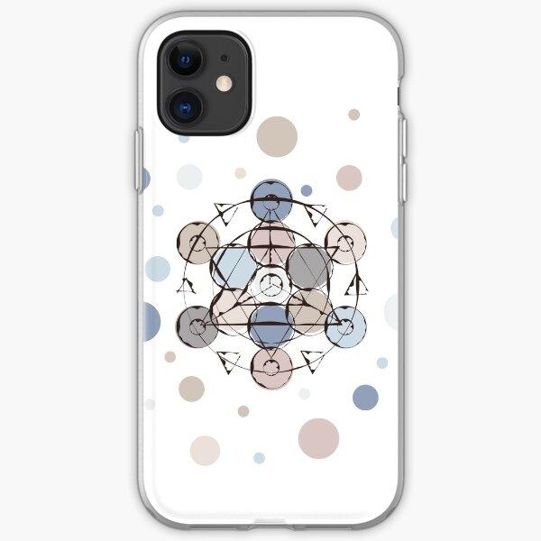 Triangle Circle Mandala iPhone Soft Case
