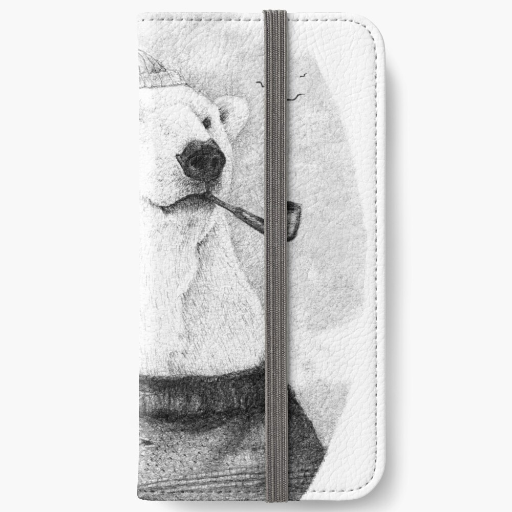 Onto the Shore iPhone Wallet