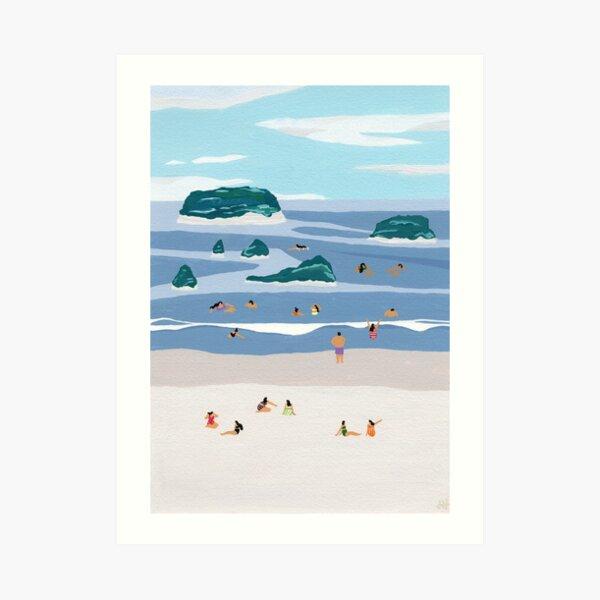 Island horizons Art Print