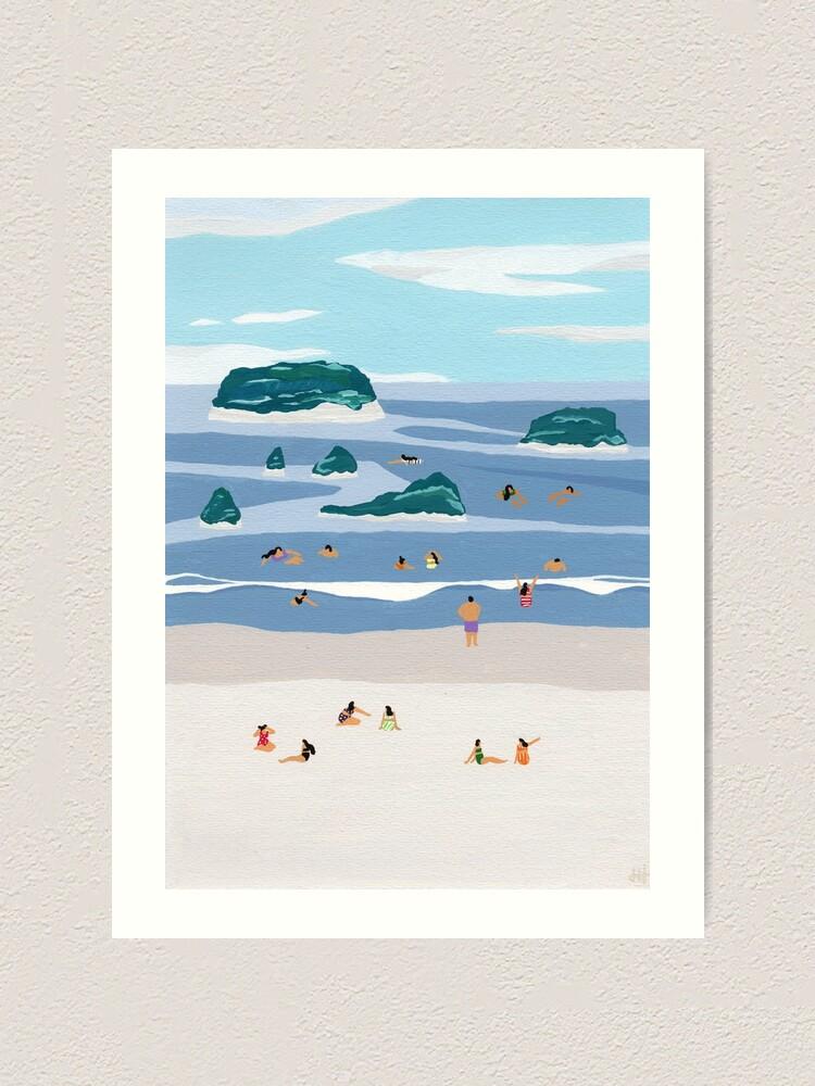 Alternate view of Island horizons Art Print