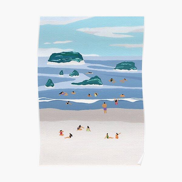 Island horizons Poster