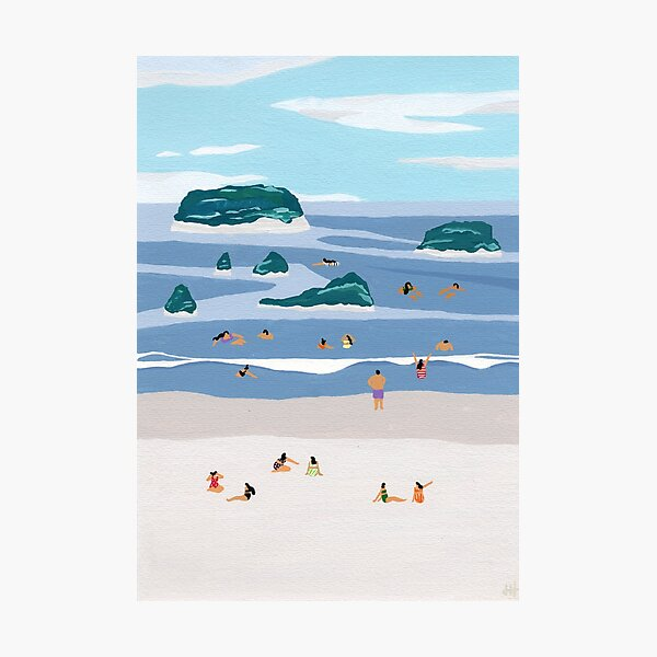 Island horizons Photographic Print