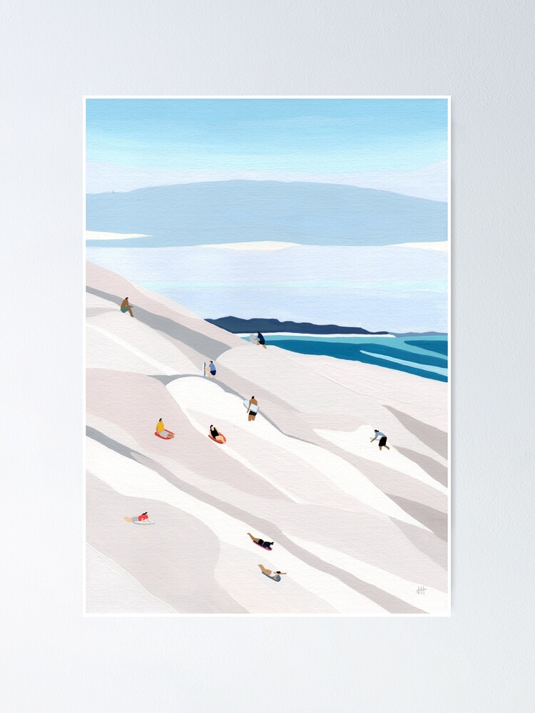 Alternate view of Sand dunes Poster