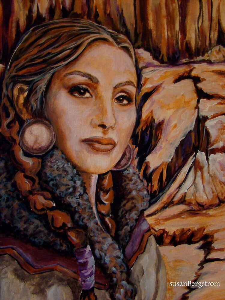 Sandstone ~ Wrapped in Tradition Series by Susan  Bergstrom