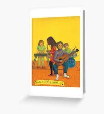 Make a joyful noise Greeting Card